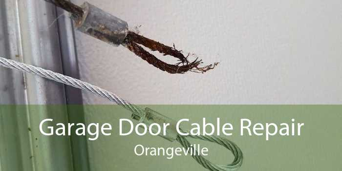 Garage Door Cable Repair Orangeville