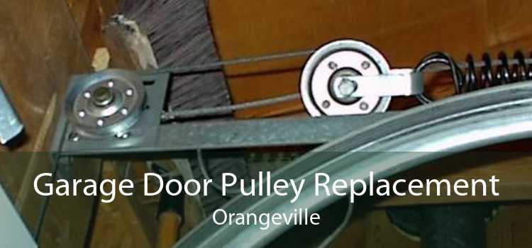 Garage Door Pulley Replacement Orangeville