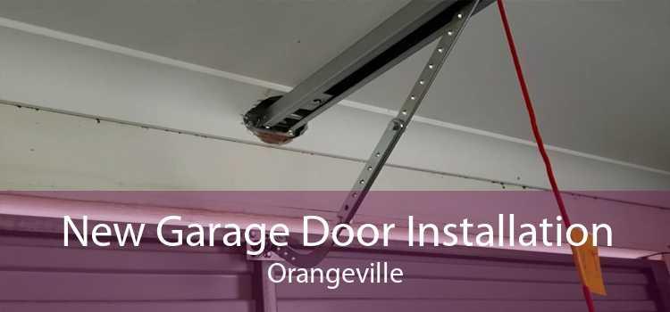 New Garage Door Installation Orangeville