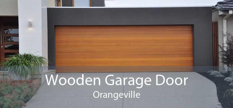 Wooden Garage Door Orangeville